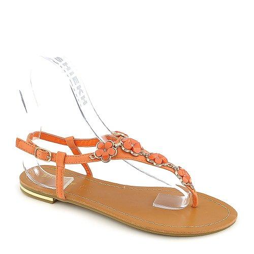 Bambus Womens Bryson-01 Sandal Orange