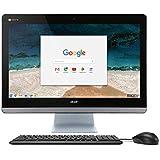 """Acer Chromebase AIO Desktop, 23.8"""" Full HD, Intel Celeron 3215U, 4GB DDR3L, 16GB SSD, Keyboard, Mouse, Chrome, CA24I-CN"""