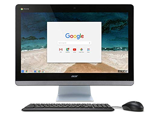 "Acer Chromebase 23.8"" All-In-One Intel Celeron 4GB Memory 16GB Solid State Drive Black CA24ICN"