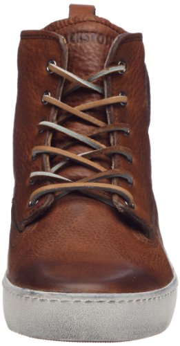 Blackstone Hommes Am02 Haute Top Fashion Sneaker Vieux Jaune / Marron