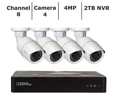 Q-see 4 Channel Nvr - 1