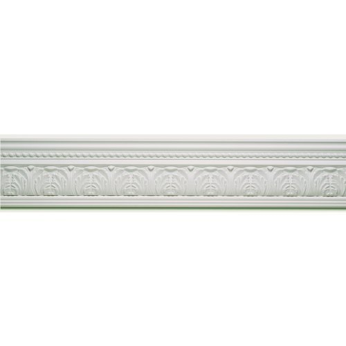 Corinthian Appliance - Focal Point 23155 Corinthian Crown Moulding 5 7/8-Inch by 8 Foot, Primed White, 6-Pack by Focal Point