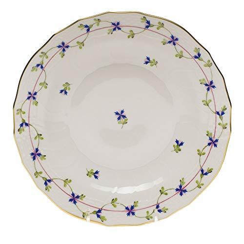 Herend Blue Garland Porcelain Dessert - Plate Dessert Garland