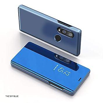 Funda para Huawei P Smart 2019 Estuche Espejo Elegante Cover ...