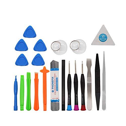 Multi-purpose 21 in 1 Mobile Phone Repair Tools Kit Spudger Pry Opening Tool Screwdriver Set for iPhone X 8 7 6S 6 Plus 5S Hand Tools Set