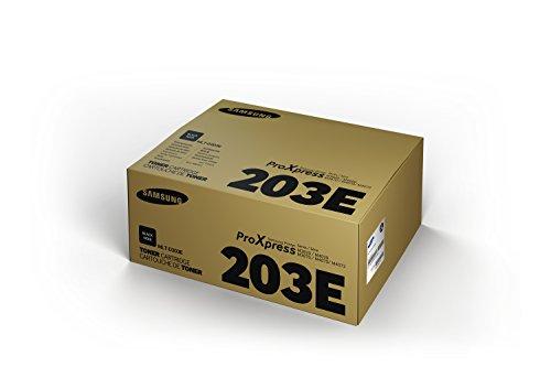 SAMSUNG ELECTRONICS AMERICA MLTD203E MLTD203E Extra High-Yield Toner, 10,000 Page-Yield, Black Photo #4