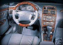 Dash Toyota Wood Kits (Toyota SOLARA INTERIOR BURL WOOD DASH TRIM KIT SET 1999 2000 2001 2002 2003)