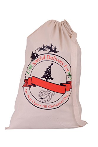 Christmas Santa Sack Bag Canvas Self Personalizable for Kids Gifts 22