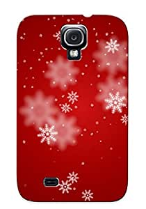 New Cute Funny Snowflakes Case Cover/ Galaxy S4 Case Cover For Lovers