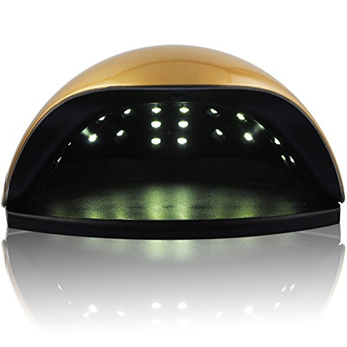 oscelia 48W Gel Nail Lamp LED Nail Dryer Curing Lamps light Fingernail & Toenail Polish Art Professional by COSCELIA