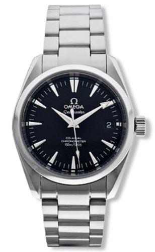 Omega Men's 2504.50.00 Seamaster Aqua Terra Mid Size Chronometer Watch
