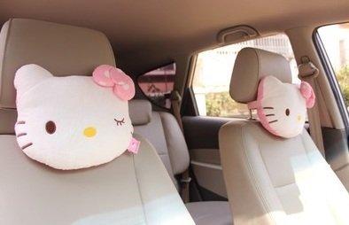 car headrest hello kitty - 5