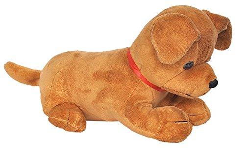 Funny Land Labrador Puppy Plush Toy  Brown, 25 cm