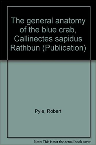 The General Anatomy Of The Blue Crab Callinectes Sapidus Rathbun