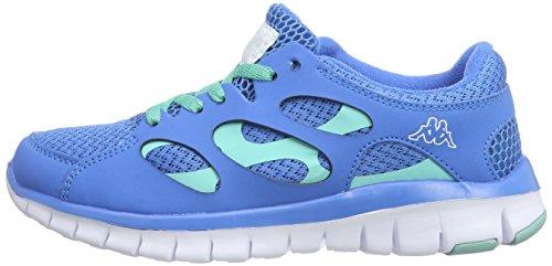 unisex Sneakers Kappa Blau Blue 6065 Ice Unisex NC FOX Erwachsene XwERxrEOq