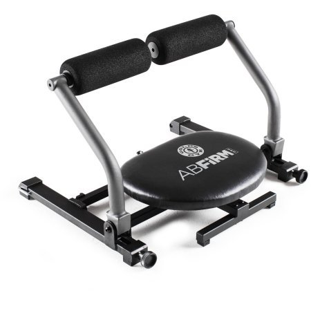 Gold's Gym AbFirm Pro | AbFirm, Adjustable Swiveling (Gold Adjustable Target)