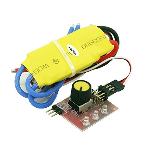 Qianson 360W 30A DC 12V 3-phase Brushless Motor Speed Control PWM Controller Driver
