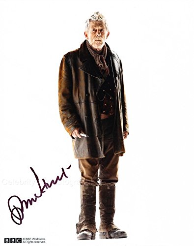 JOHN HURT as The War Doctor - Doctor Who GENUINE AUTOGRAPH from Celebrity Ink