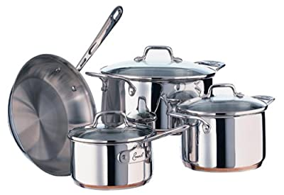 Emeril Stainless 7-Piece Cookware Set