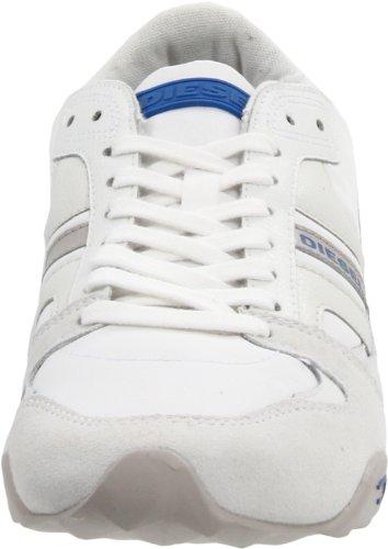 Grey Vaporous Gunner Lace Sneaker Up Fashion Diesel White ps636h3990 Men's Aqg8U8