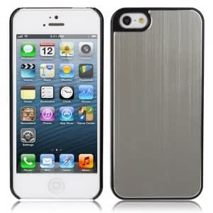 Protective Aluminum Alloy Hard Case Cover for iPhone 5 Silver