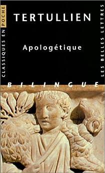 Apologétique par Tertullien