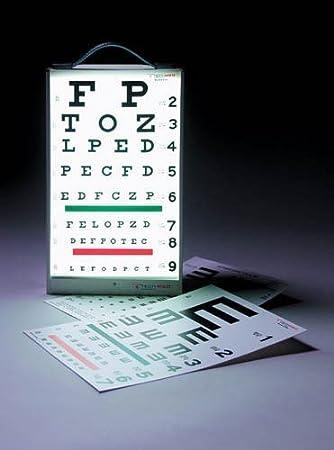 Amazon com: Illuminated Eye Test Cabinet - Eye-Test Cabinet