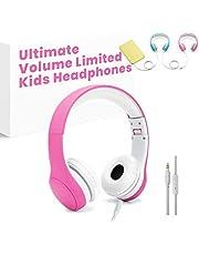 Getlink Kinder Kopfhörer regulierbar Leichtkopfhörer mit Lau