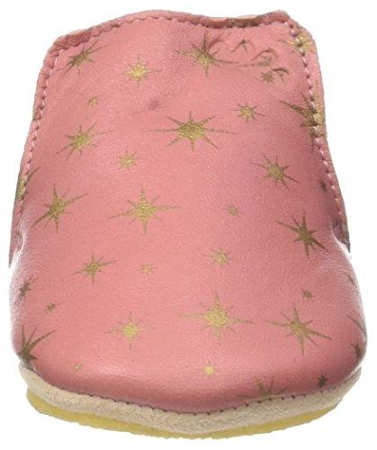 Easy Peasy Unisex Baby Blublu Cosmos Krabbel-& Hausschuhe Mehrfarbig (Rosy/Or FONCE)