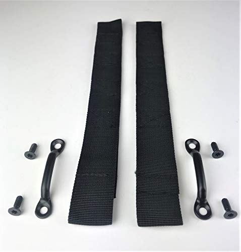 2 Sets Jeep Wrangler Door Limiting Check Strap Kits for Jeep TJ/YJ