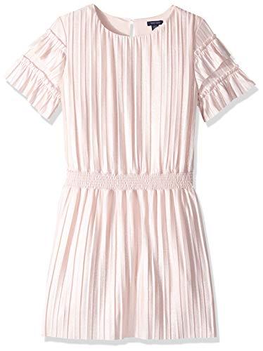 Tommy Hilfiger Big Girls' Fashion Dress, Crystal Rose, Large 12/14