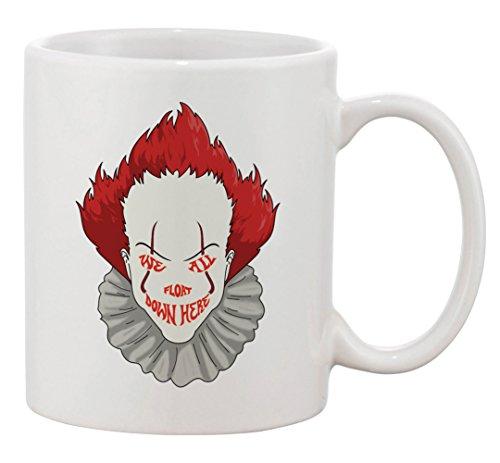 Ceramic Coffee Mug - We All Float Down Here Horror Movie Clown