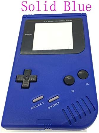 HJRD 画面W/ドライバーワットゲームボーイゲームボーイオリジナルコンソールシェルケースを収納するための (Color : Clear Orange)