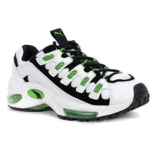 - PUMA Men's Cell Endura Sneaker, White-Classic g, 7.5 M US