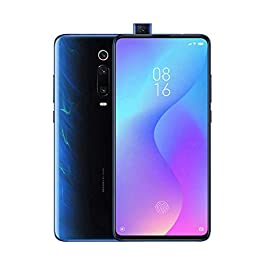 Xiaomi Mi 9T (128GB, 6GB RAM) 6.39″ AMOLED FHD + Full Screen Display, 48MP Triple Camera, Global 4G LTE Dual SIM GSM Factory Unlocked (Glacier Blue)