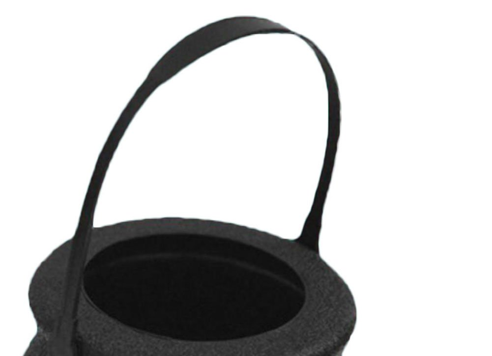 Fablcrew 12pcs Chaudron de Sorci/ère Marmite Pot de Sorci/ère Portable Sac de Bonbons Plastique pour Halloween D/écoration Props
