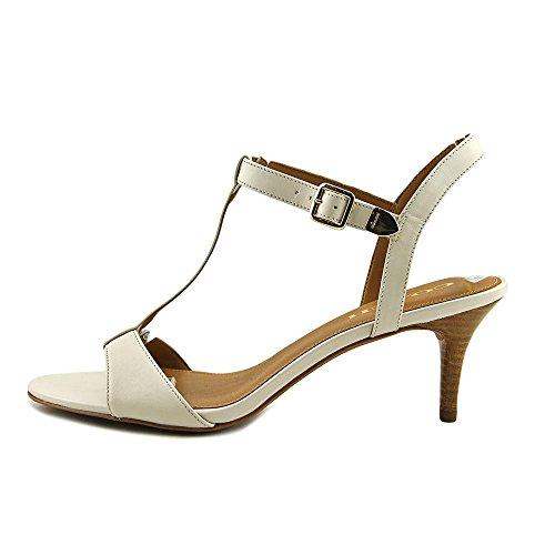 Coach Womens Flat Sandals Chalk Semi Matte Calf discount best buy cheap enjoy visit cheap price with paypal visit lMLrsWL