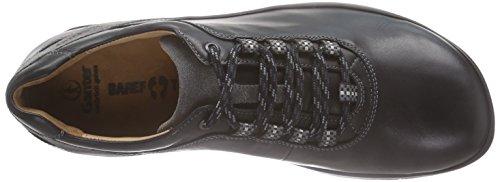 Ganter - BAREFOOT-Men, Weite G, Stringate uomo, color Nero (schwarz/graphit 0163), talla 43
