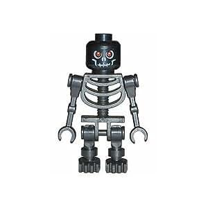 LEGO Castle - Figura de esqueleto malo, color negro