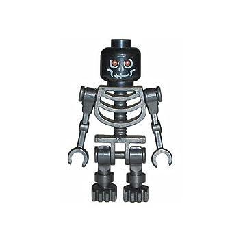 LEGO Castle - Figura de esqueleto malo, color negro: Amazon.es ...