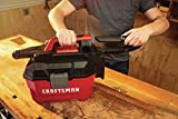 CRAFTSMAN V20 Cordless Shop Vac, 2 Gallon, Wet/Dry, Tool Only