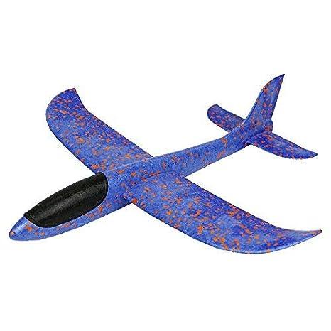 3047c57ca5 lsxszz8 Mano Lanzamiento Glider Aviones Avión Modelo Avión Juguete 480 MM  Envergadura Niños Juguetes Adultos Deporte al Aire Libre  Amazon.es   Juguetes y ...