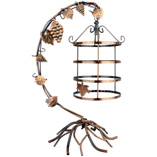 MyGift 4 Tier Bird Cage Décor Rotating Stand