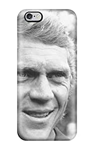 Flexible Tpu Back Case Cover For Iphone 6 Plus - Steve Mcqueen