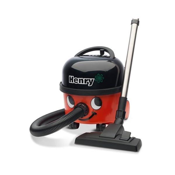 2X NUMATIC HVR200-12 Henry Vacuum Cleaner, Bagged, 620 Watt, Red/Black