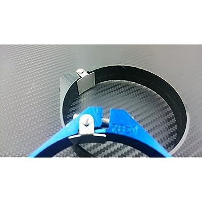 "P2M ALUMINUM HOSE CLAMP 2.00"" PIPING BLACK P2-AHC200BLK-KMI: Automotive"