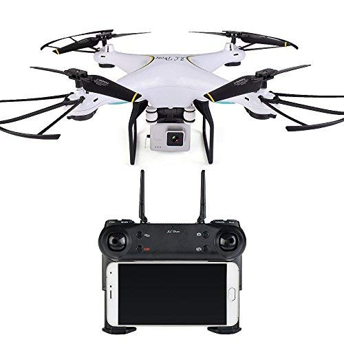 UniDargon SG600 RC Drone WiFi App Control 4CH 6-Axis Gyro Quadcopter with 3D Flips Headless Mode One Key Return RC Drone for Kids & Beginners Altitude Hold and 2.0MP Wide Angle Camera