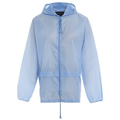Kagool Mens Proof Shower Cagoule XL L RAIN XXL Coat Hooded S Blue Womens Light Adults M RainyDays qfWxUtTT