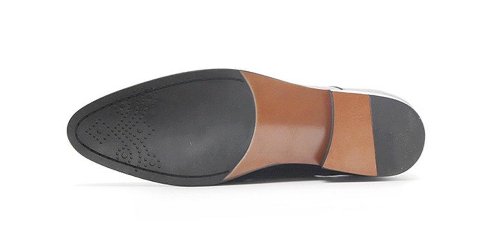 XIE Scarpe da uomo d'affari casual scarpe da uomo a a a punta scarpe in pelle 37-44, Red, 42 f6f73e