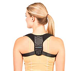 Corrector de Postura Espalda y Hombros Para Hombre y Mujer Talla Única - Faja para Dolor de Espalda - Chaleco Corrector de Postura Enderezador de Espalda Transpirable - Incluye eBook de Ejercicios